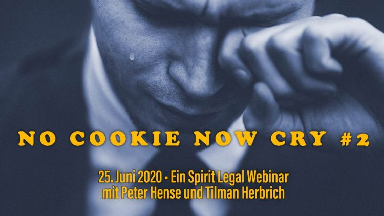 No Cookie Now Cry - Ein Spirit Legal Webinar
