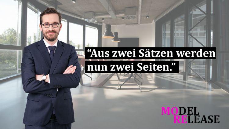 Model Release Vertrag Dsgvo Konform Spirit Legal Llp Rechtsanwälte
